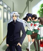Gakkou no hi: School Days by mayreni