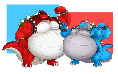 Copo and Argy Bowser's Day