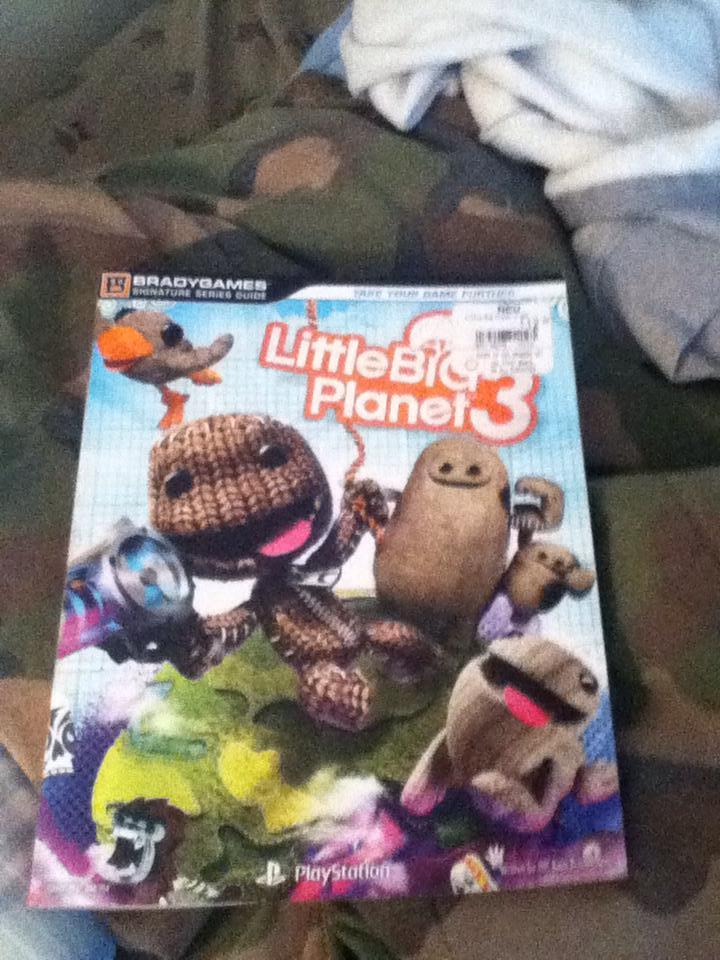 Little Big Planet 3 Book By Saintrowfan2 On Deviantart