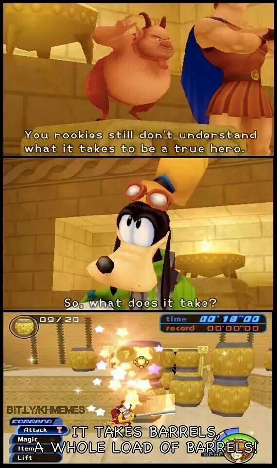 Kingdom Hearts Phil's Training Program
