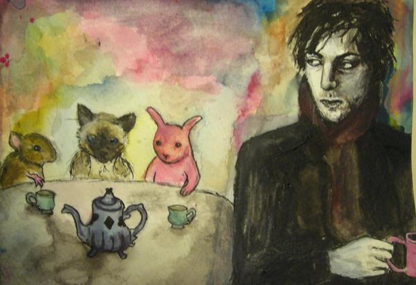 Syd Barrett's Brain by deermilk