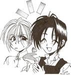 Tsuzuki and Hisoka