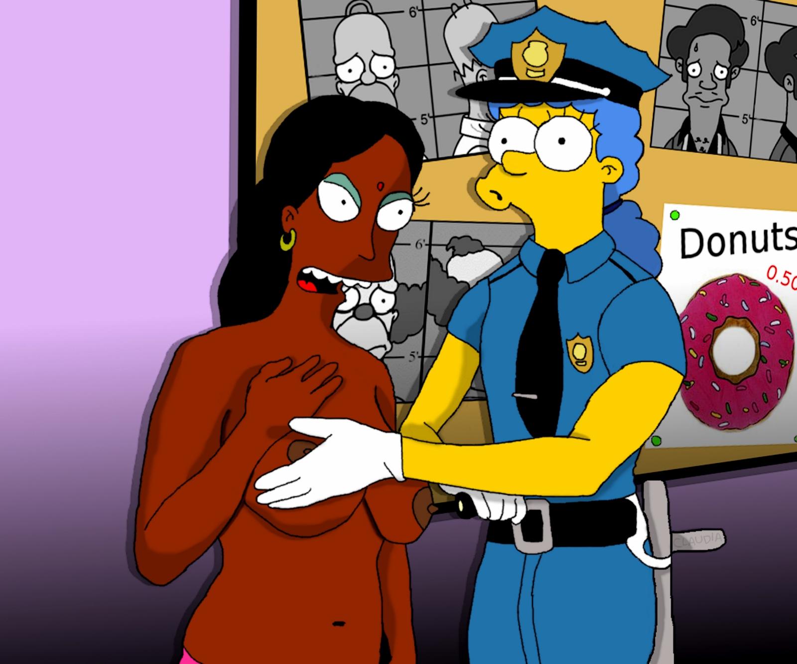 Easier simpsons manjula naked