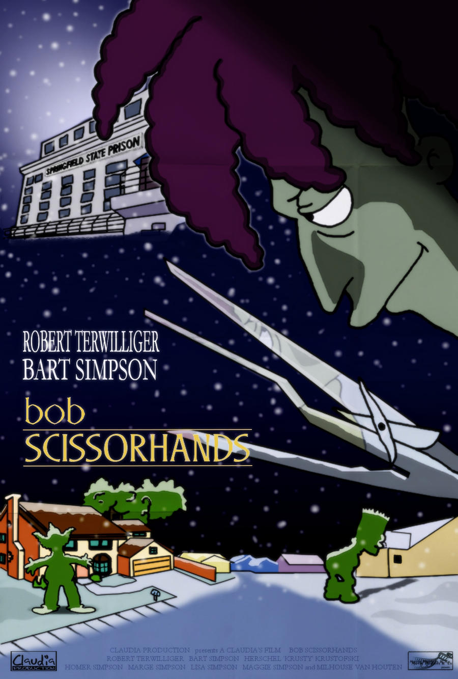 Bob Scissorhands by Claudia-R