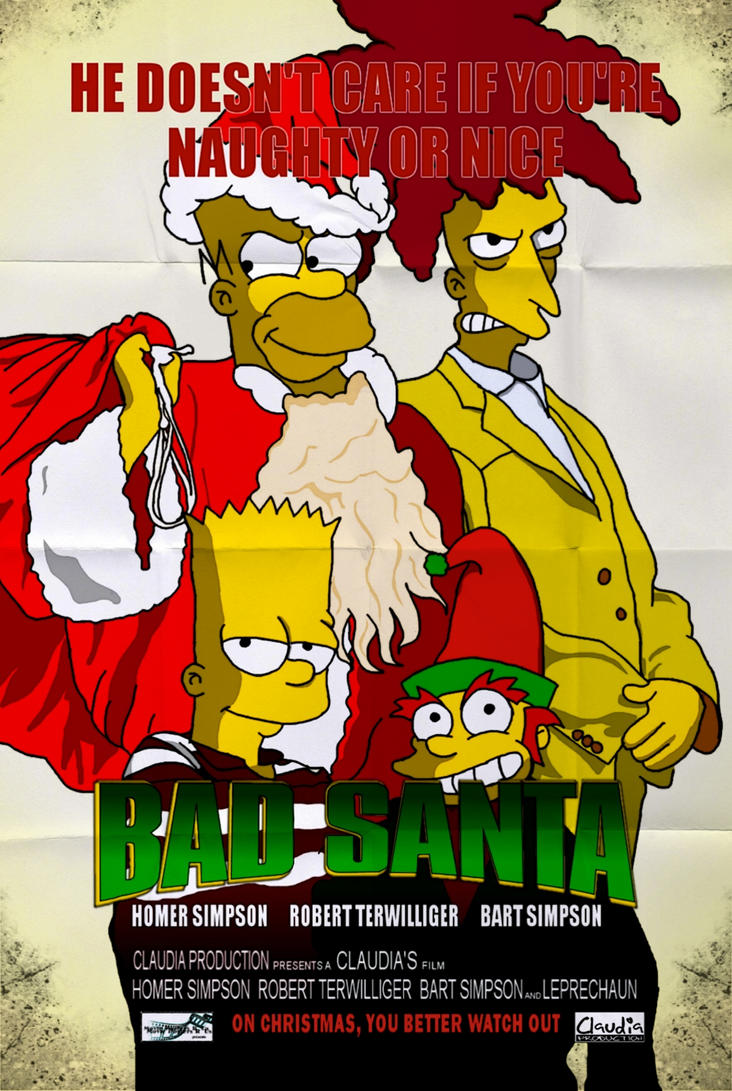 Bad Santa by Claudia-R
