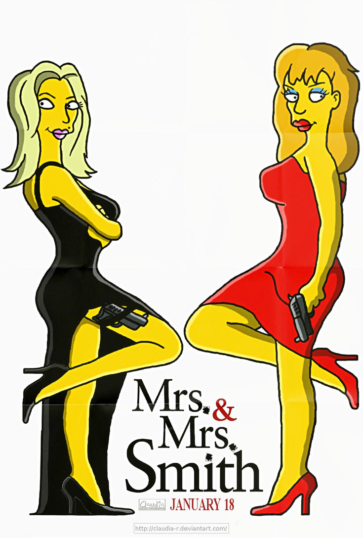 Mrs. And Mrs. Smith by Claudia-R