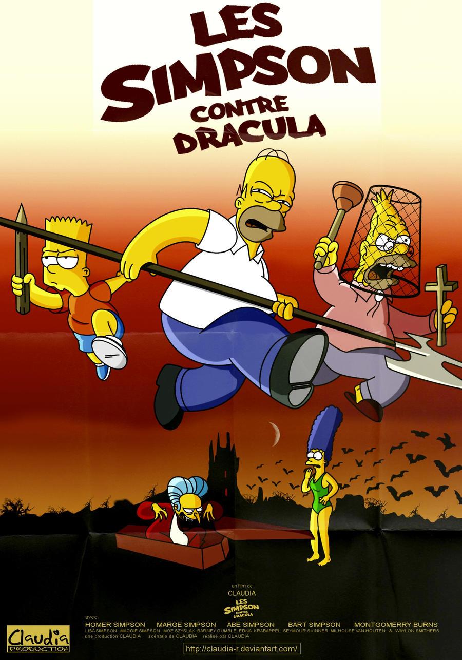 Les Simpson Contre Dracula by Claudia-R