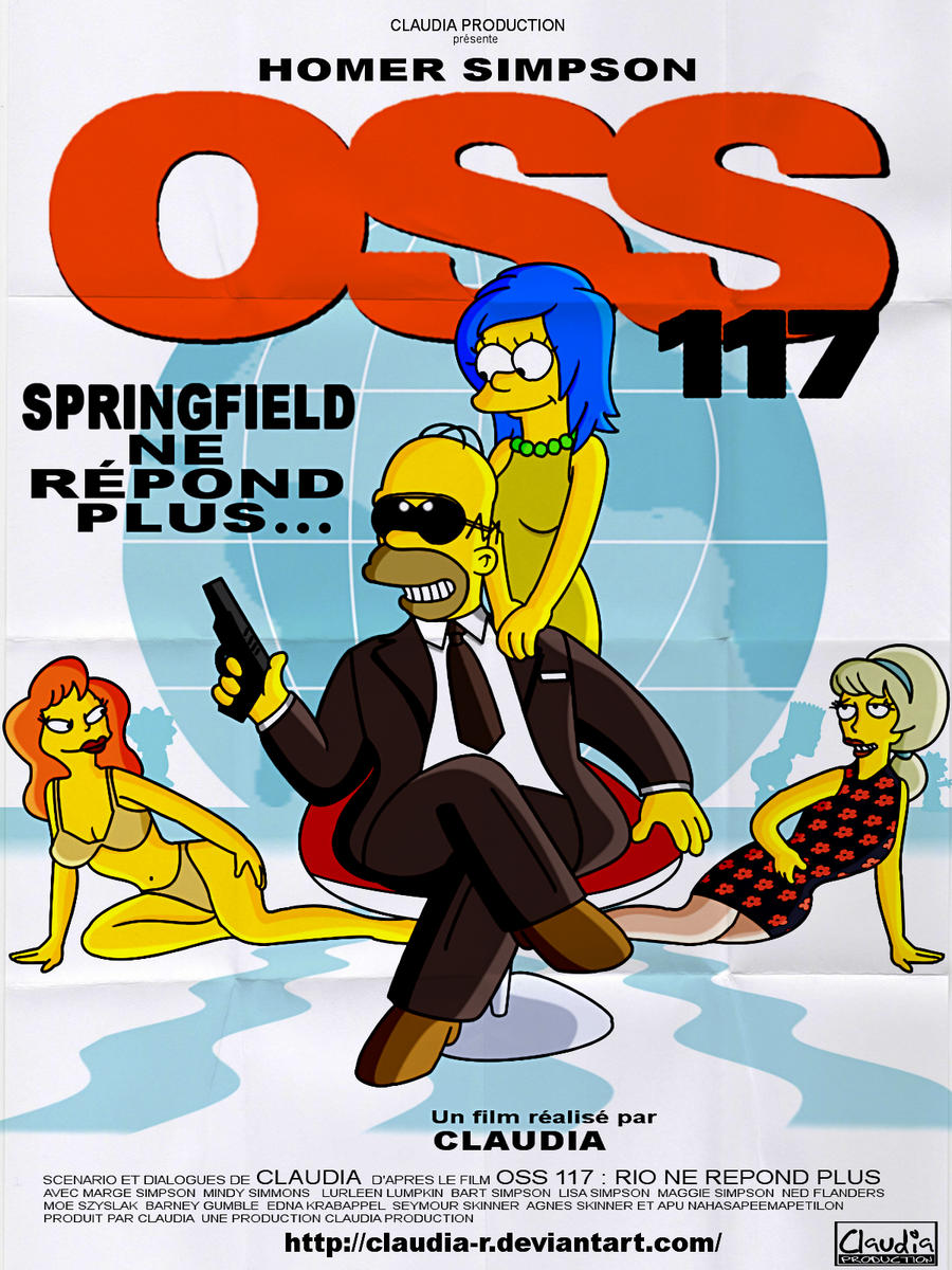 OSS 117 : Springfield Ne Repond Plus by Claudia-R