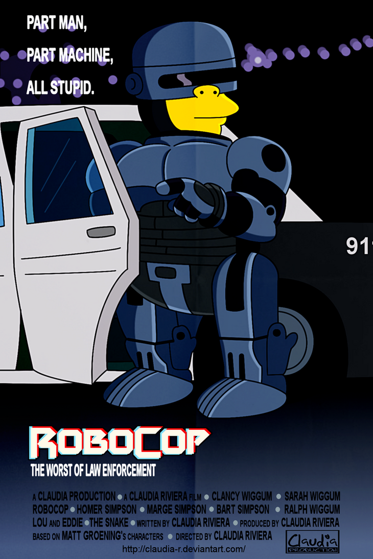 Robocop by Claudia-R