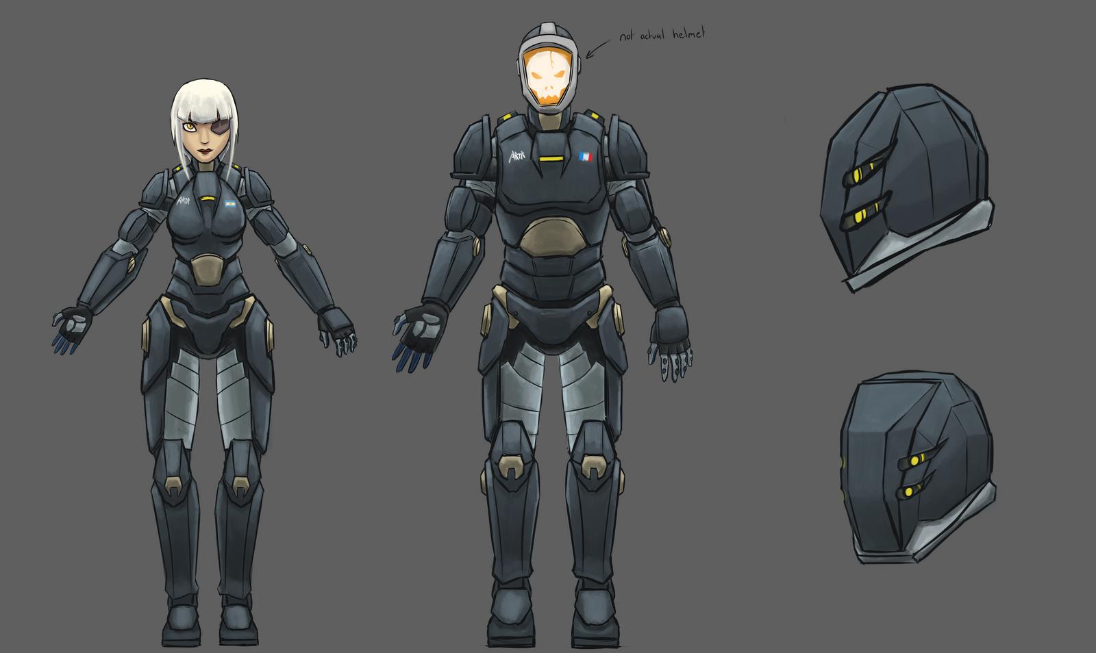 Impact Sigma - Jaeger Pilots by Keilink on DeviantArt