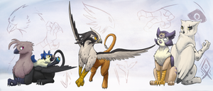 Griffus Empire - Sub-species