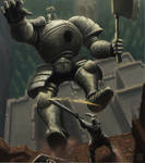 Dark Souls - Iron fall