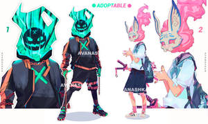 Adopt [close] . Emerald explosion and Candy rabbit