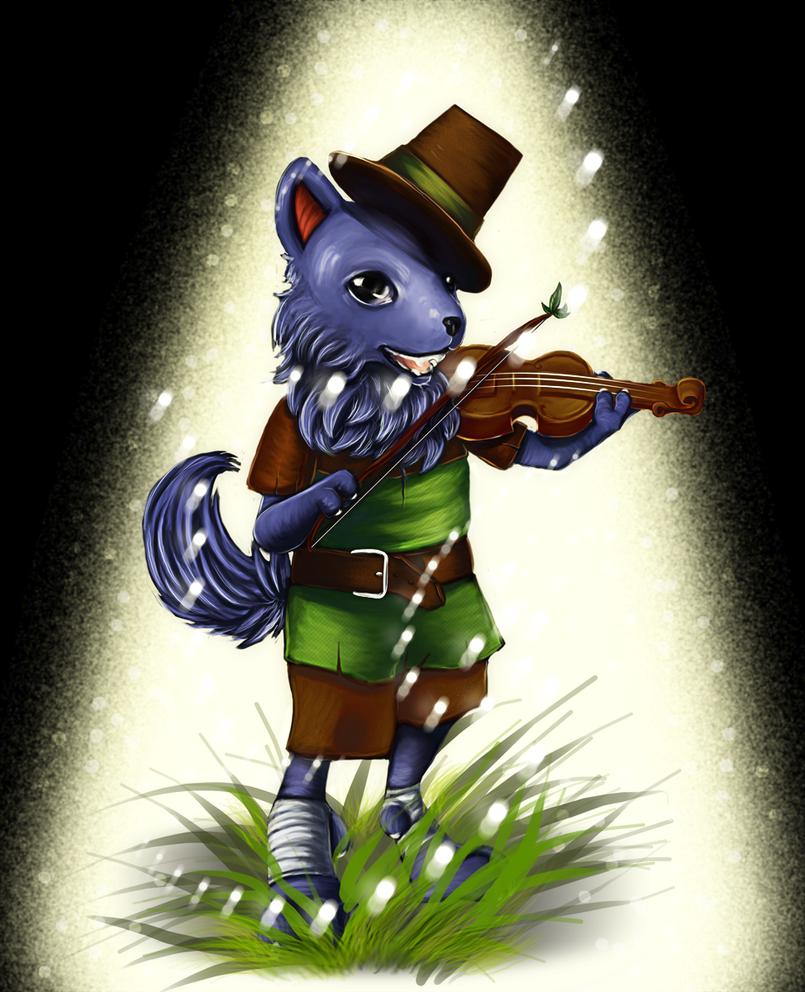Wapi the Wolf by MysticSteph