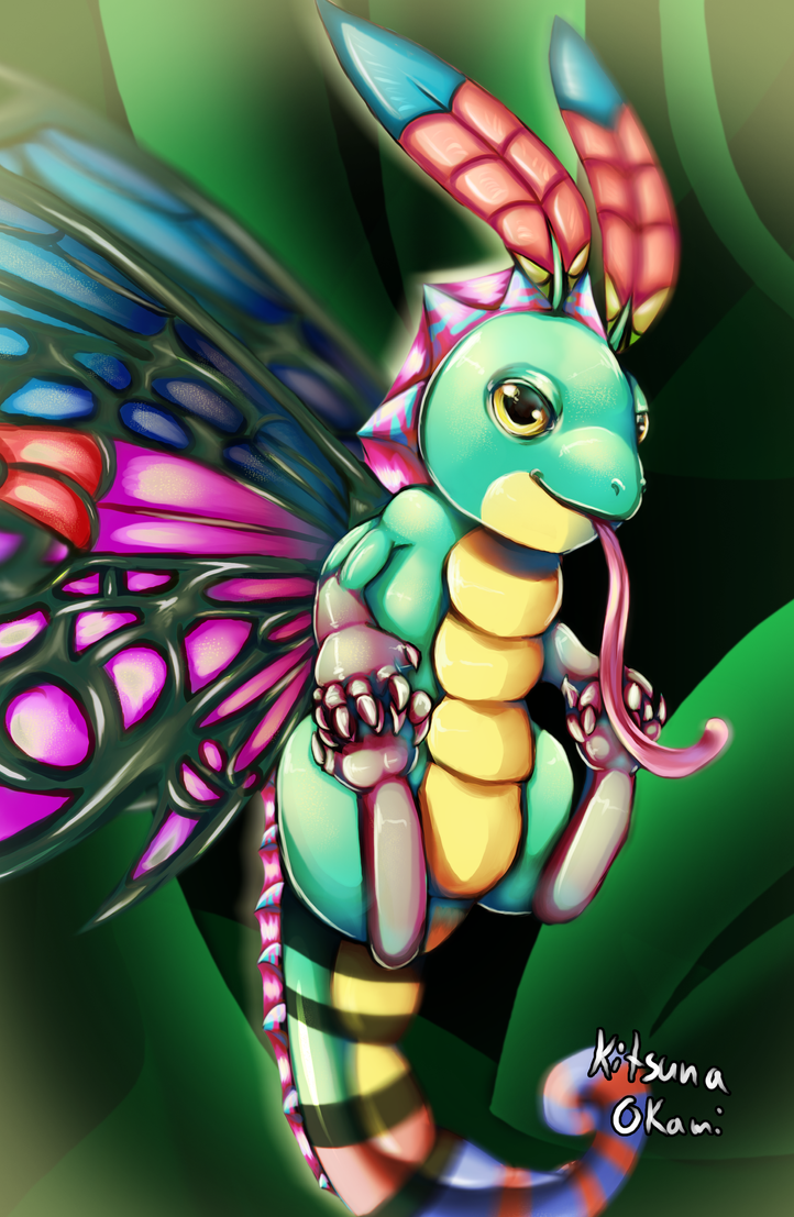 Brightwings from HoTS by MysticSteph