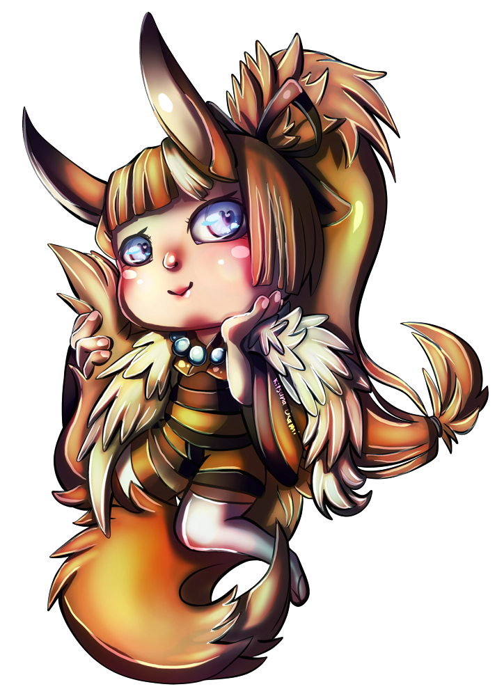 Chibi for Gr0ssking by MysticSteph