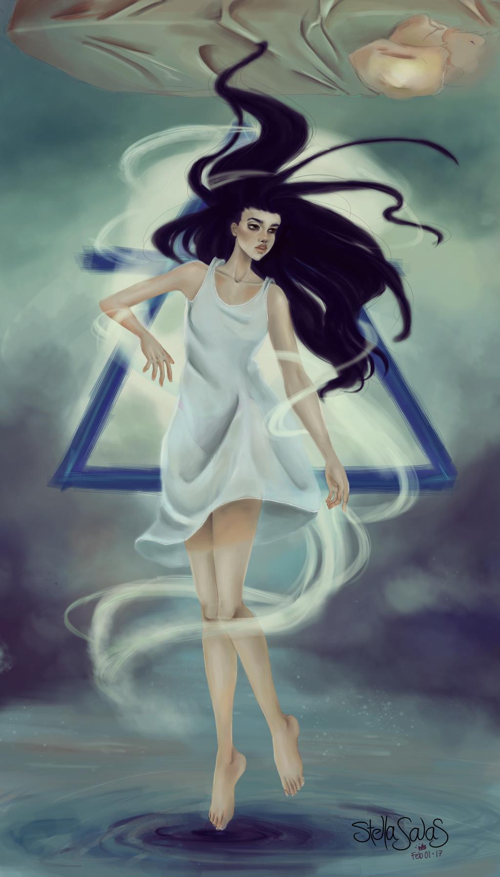 Aquarius, the sleepflyer by yo-sociopath