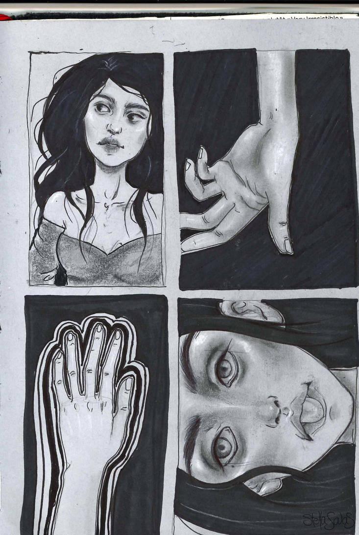 Self portrait by yo-sociopath