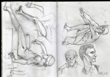 Sketchbook dump by yo-sociopath