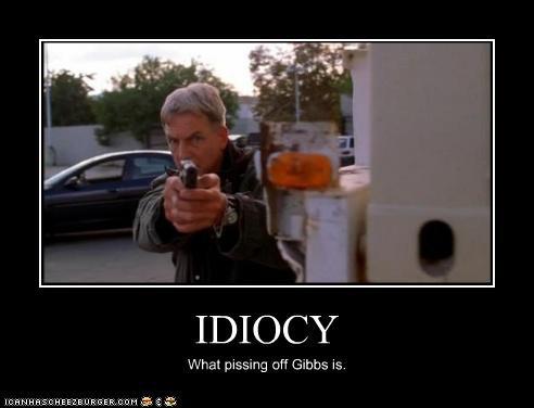 Gibbs isn't a happy man. by guy011