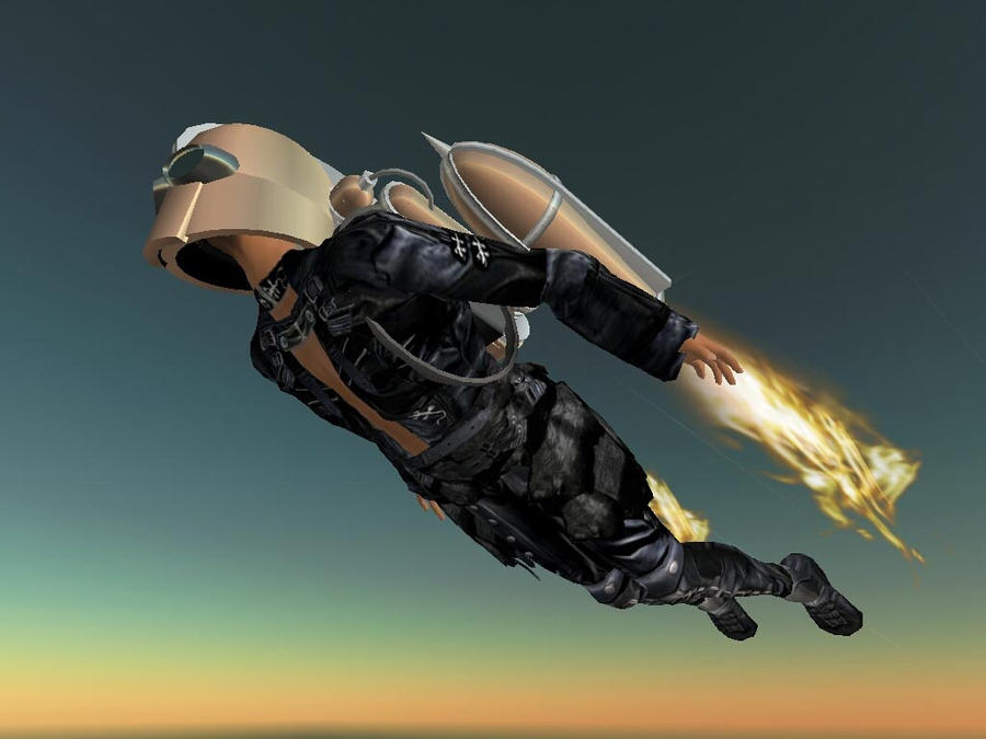 JETPACK DUDE by Jetpack-fan