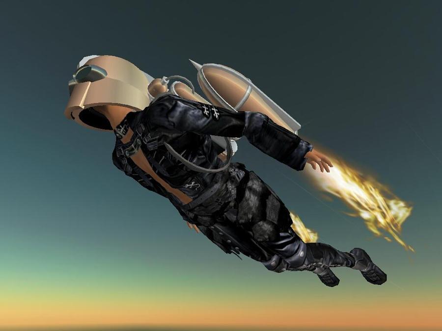 JETPACK DUDE by Jetpack-fan