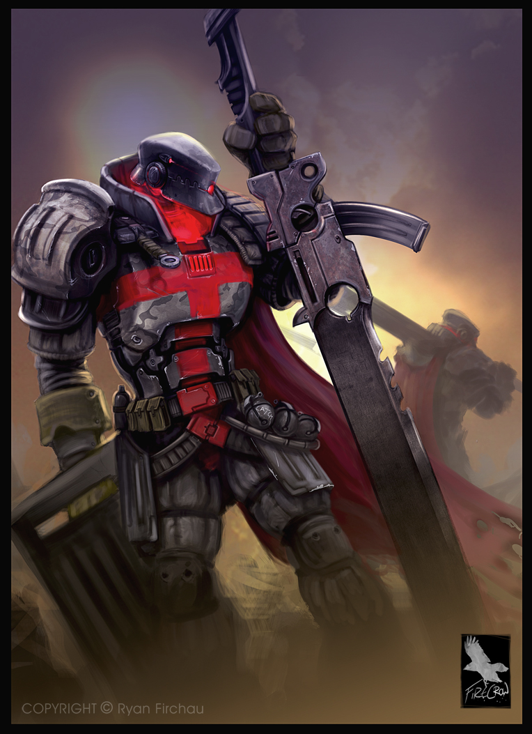 Crusade Marine by firecrow78