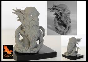 Bust Sculpture by firecrow78