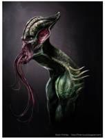 Alien Creature Design by firecrow78