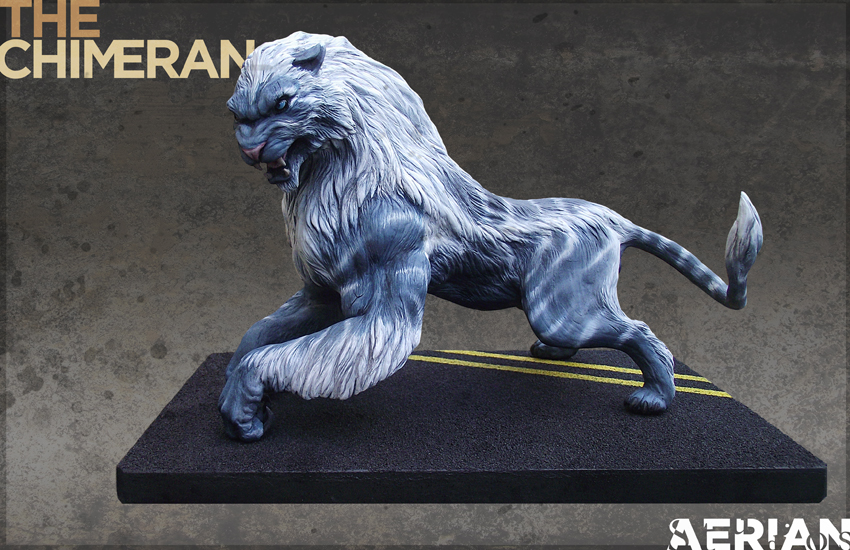 Military Chimeran Maquette by firecrow78