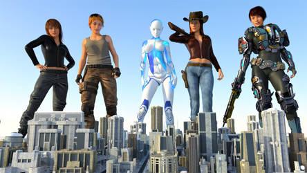 One Last Goodbye  by 3D-Giantess-Studios