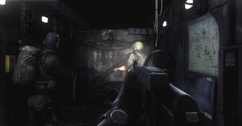 Tarkov tunnels by Pr0metheus-RF