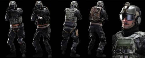 SWAT Operators by Pr0metheus-RF
