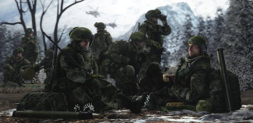 Military training in Altai