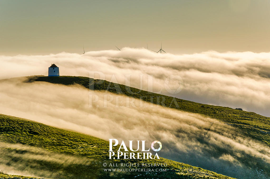 Windmills of the West of Portugal by PauloPPereira