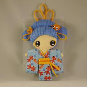Doll / Kawaii / Geisha / Kokeshi / Japan / Kimono