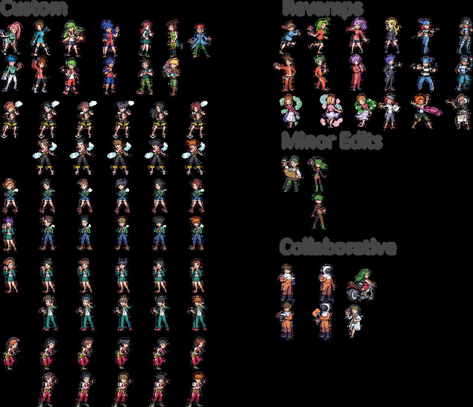 Pokemon Custom Trainer Classes by AutumnSpire