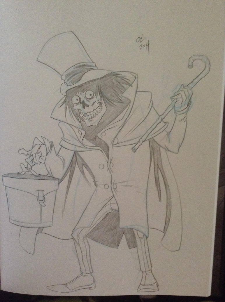 Hatbox Ghost by ozthepowerful