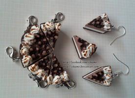 Polymer Clay: Hershey Pie by iChame