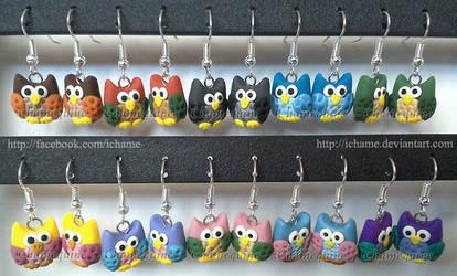 Little Owl Earrings by iChame