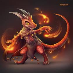 Rozlis the Fire Dancing Kobold