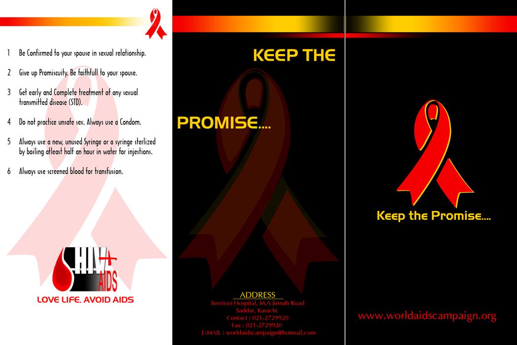 HIV AIDS Brochure 001 by hamdankhatri on DeviantArt