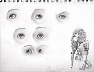 An Obsession with Eyes by Kizumani