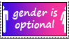 gender is optional by zharth