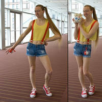 Misty Cosplay by zharth