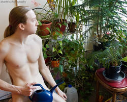 Naked Gardening by zharth