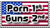 Porn First, Guns Second by zharth
