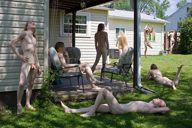 Backyard Club by zharth