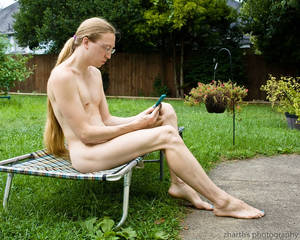 Nudist Phone Use