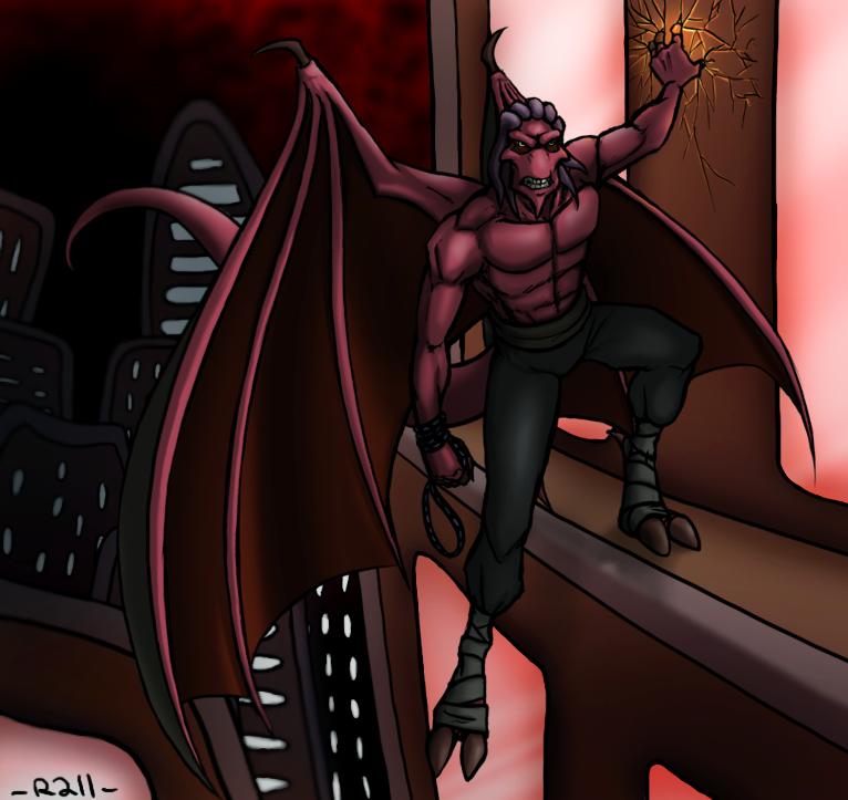 Gargoyle Thrax by R2ninjaturtle